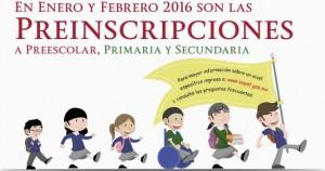 Preinscripciónes-2016-Preescolar