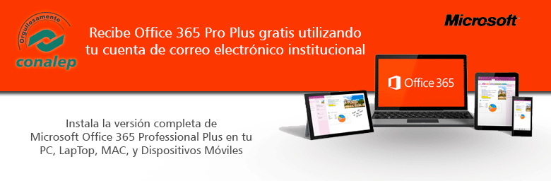 Office365 sae conalep