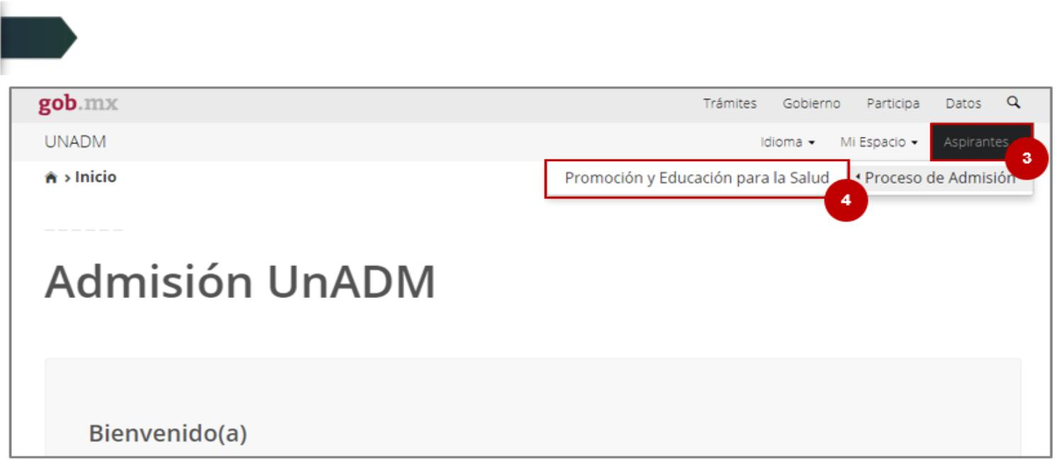 programa educativo unadm